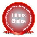 Editors Choice Seal Royalty Free Stock Image