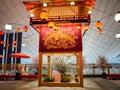Dekorácie na letisko tokio japonsko