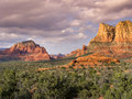 Edona arizona hiking trail leads to amazing desert vistas beautiful treat you along this sedona Royalty Free Stock Photography