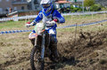 Eduardo gomes vale de cambra portugal april at the th national enduro championship on april in vale de cambra portugal Stock Photography