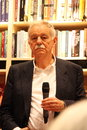 Eduardo mendoza warsaw poland may famous spanish writer during a meeting with his fans at the merlin bookstore on may in warsaw Stock Images