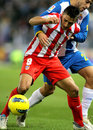 Eduardo Salvio of Atletico de Madrid Stock Images
