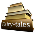 Education books - fairy-tales Stock Images