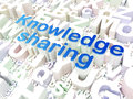 Education concept: Knowledge Sharing on alphabet Royalty Free Stock Photography
