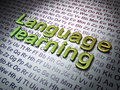 Education Concept:  Language L...
