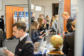Education Fair to choose career path and vocational counseling Royalty Free Stock Photo