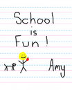 Education is Fun Royalty Free Stock Photos