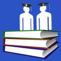 Education and graduation icon Stock Images