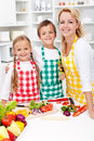 Education for a healthy diet Royalty Free Stock Image