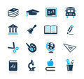 Education Icons  // Azure Series Stock Photography
