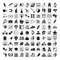 Education icons, school icons