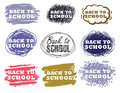 Education icons set vector background with Stock Photos