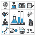Education icons vector set for you design Royalty Free Stock Photography