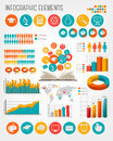 Education infographics elements vector illustration Royalty Free Stock Photos