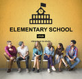 Education Learning School Knowledge Elementary Highschool Concep Royalty Free Stock Photo