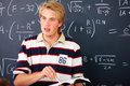 Education - Male teacher teaching mathematics Stock Images