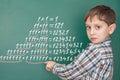 Education mathematics concept