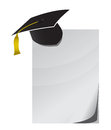 Education notepad paper Royalty Free Stock Image