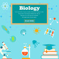 Education and science concept illustrations. Biology lesson