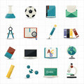 Education and science icons this image is a vector illustration Stock Image