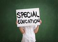 Education for those with special needs Royalty Free Stock Photo