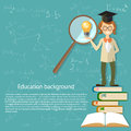 Education, teacher, back to school, open textbook Royalty Free Stock Photo