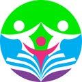 Education and training logo