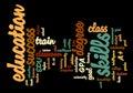 Education Word Tag Cloud Illustration