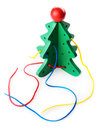Educational toy christmas tree an Stock Photography