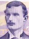Edvard Munch portrait Royalty Free Stock Photo