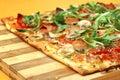 EDZR - Cheese, banana and arugula Pizza