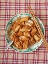 Eel clay pot doubanjiang chee cheong fun cantonese speciality cuisine Stock Photos
