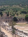 Efes ancient ruins of Royalty Free Stock Photography