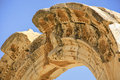 Efes historical site ruins of an old city in turkey Royalty Free Stock Photo