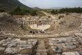 Efes turkey the theatre of ephesus th october Royalty Free Stock Photos