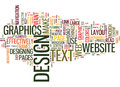 Effective Web Design Word Cloud Concept Royalty Free Stock Photo