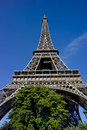 Effiel tower located at the champs de mars paris one of the most well known landmarks in paris Royalty Free Stock Photography