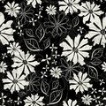 Effortless floral pattern Royalty Free Stock Images