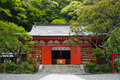 Egaratenjinsha shrine a shinto in kamakura japan Royalty Free Stock Photos