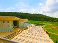 Egerszalok, Hungary - September 27, 2015: the Saliris resort.