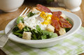 Egg and bacon salad Royalty Free Stock Photo