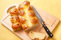 Egg bread challah Royalty Free Stock Photo