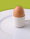 An egg for breakfast Royalty Free Stock Images