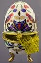 Egg-cup van China met parels Royalty-vrije Stock Foto's
