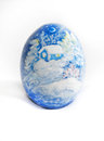 Egg everything is hand krashenka decor object decor Royalty Free Stock Photography