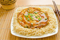 Egg Foo Young Royalty Free Stock Photography