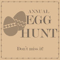 Egg hunt Royalty Free Stock Photography