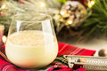 Egg nog Royalty Free Stock Photo
