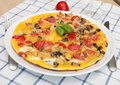 Egg Omelette Royalty Free Stock Photos