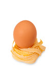 Egg and pasta Royalty Free Stock Photo